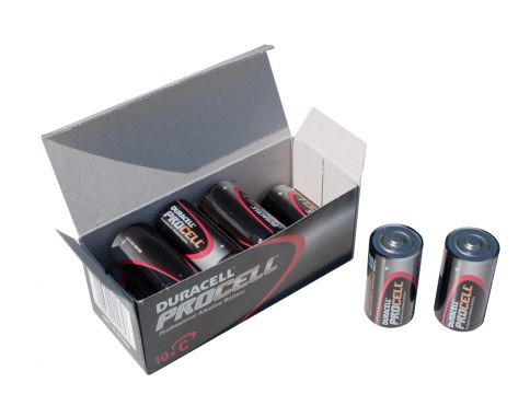 Duracell Industrial Batterij Eng staaf/P-10 C/PC1400