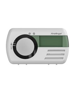 Fire Angel CO-melder digitaal display, lithium batt. 7 jaar